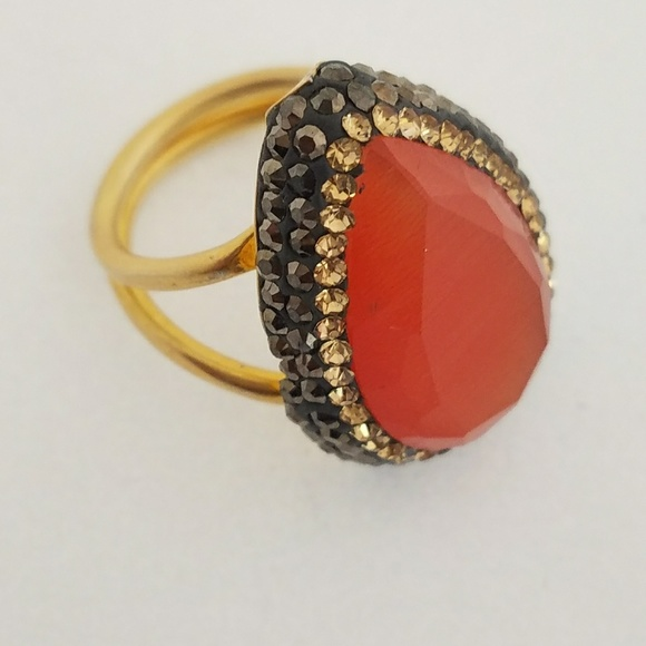 Jewelry - 18kt Gold Vermeil 925 Ring